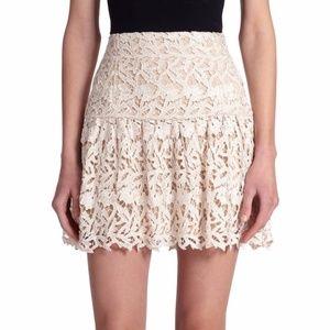 ALICE + OLIVIA Jayce Guipure Lace Skirt NEW/Sz 6
